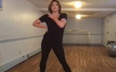 Moulin Rouge Dance Class with Robyn Hurder