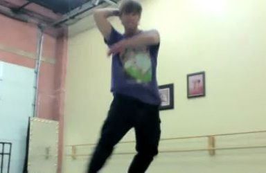 Musical Theatre Dance Class with Thayne Jasperson, June 2021
